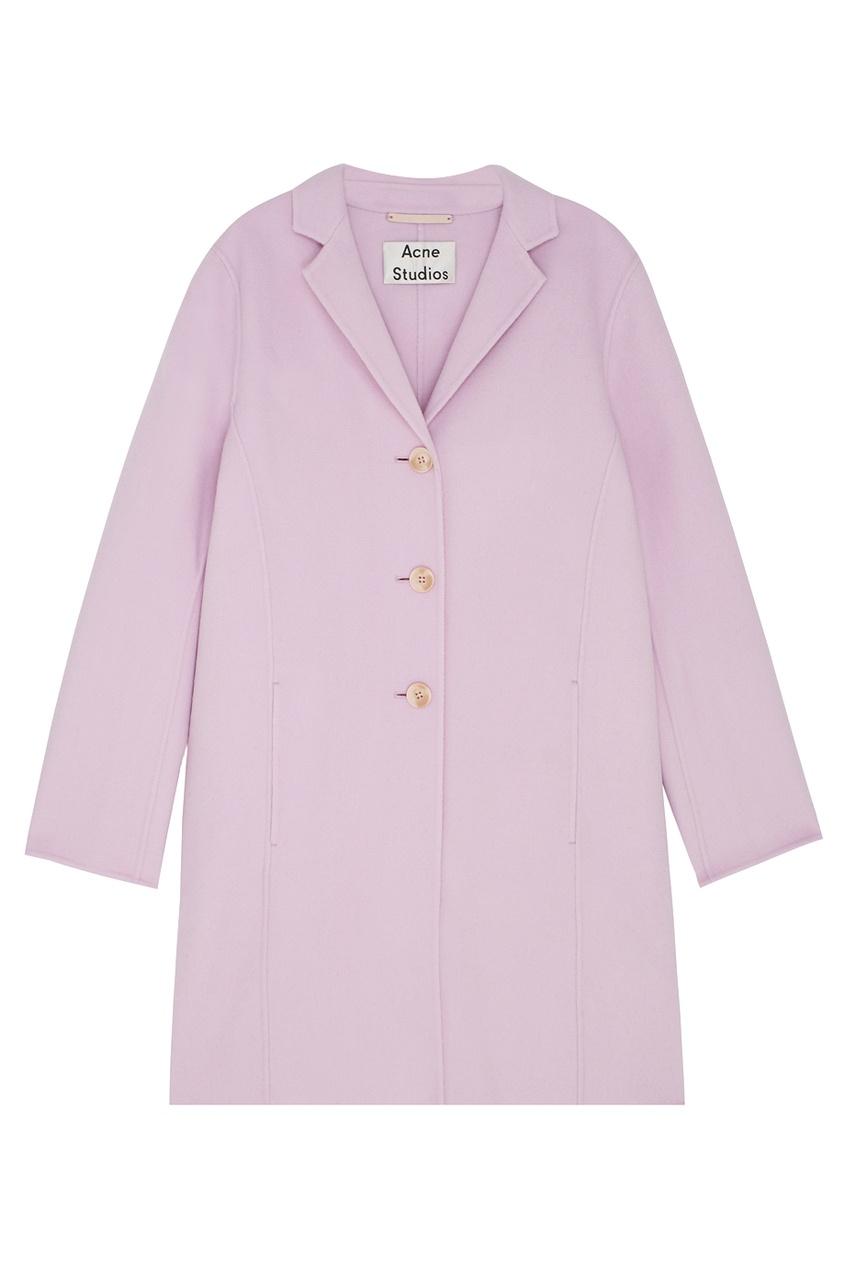 Пальто из шерсти и кашемира Elsa Double