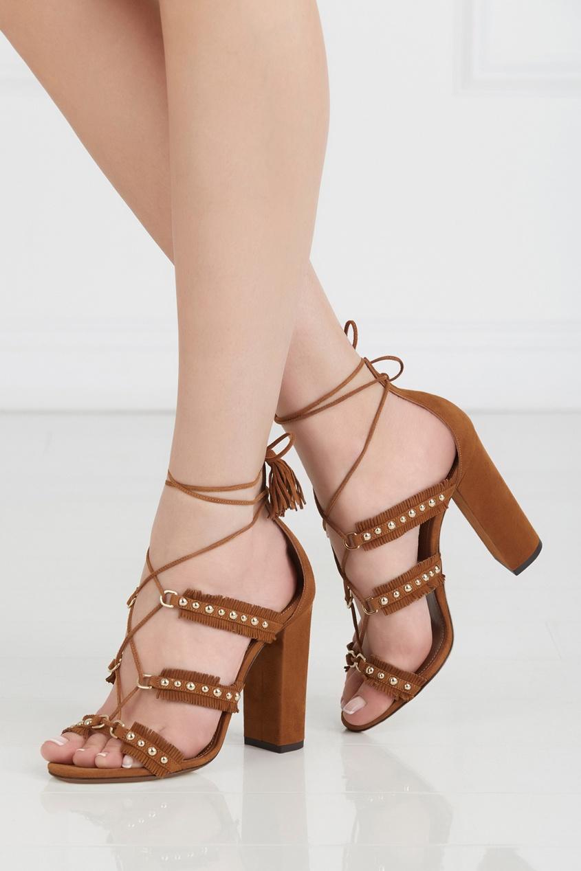 Замшевые босоножки Tulum Sandal