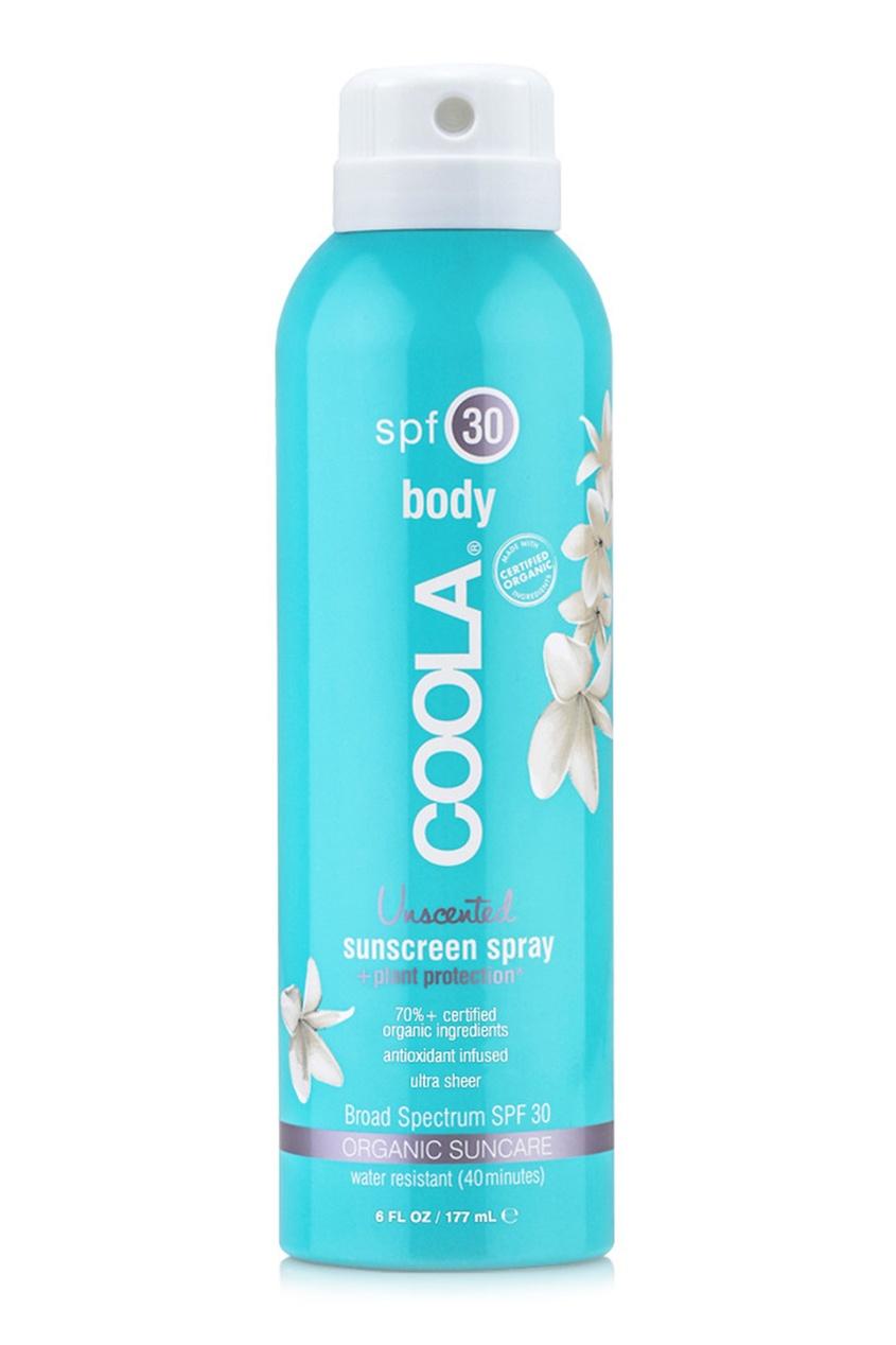 Солнцезащитный спрей для лица и тела без запаха SPF30 177ml