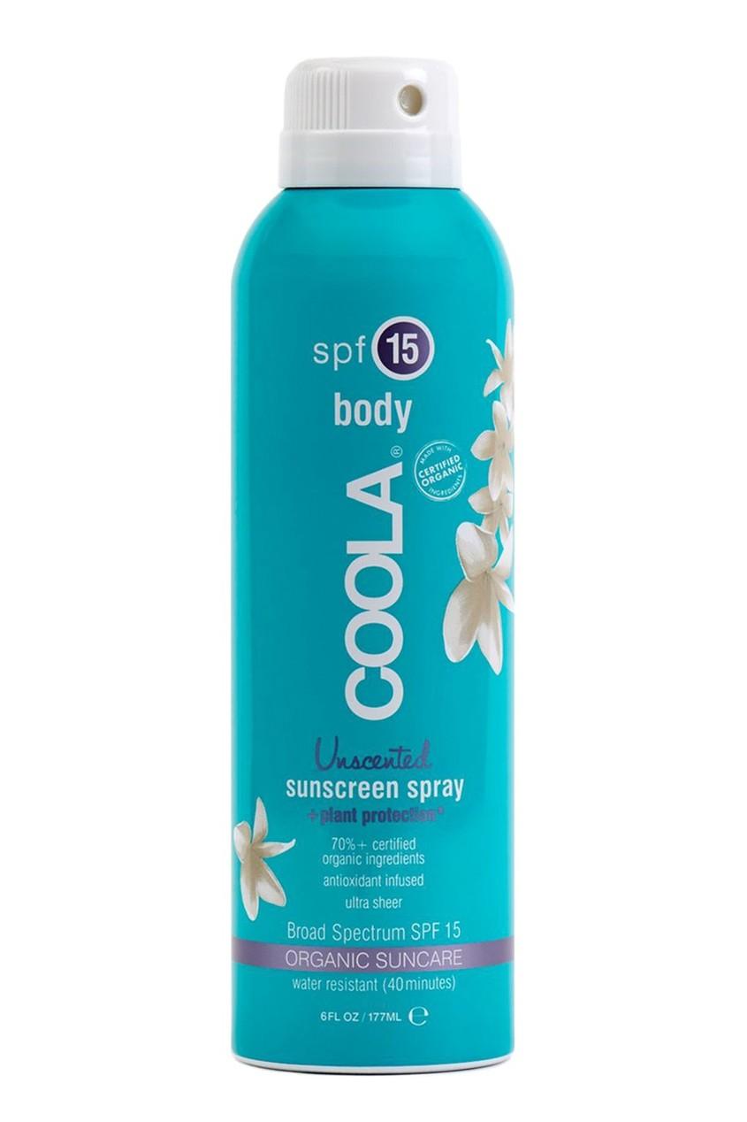 Coola Suncare Солнцезащитный спрей для лица и тела без запаха SPF15 177ml