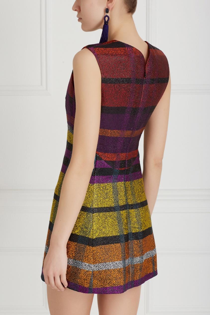 Фото 4 - Платье с вышивкой от Chapurin цвет multicolor