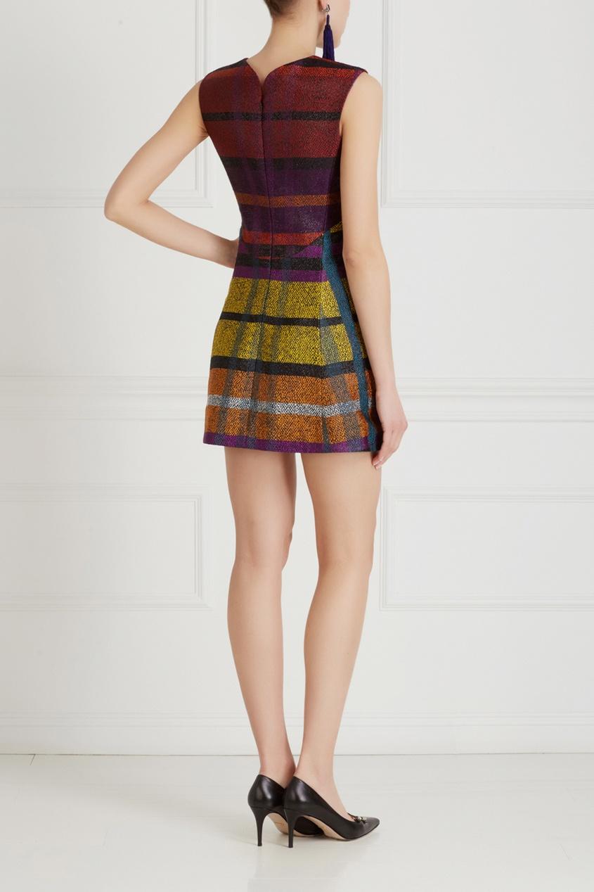 Фото 6 - Платье с вышивкой от Chapurin цвет multicolor