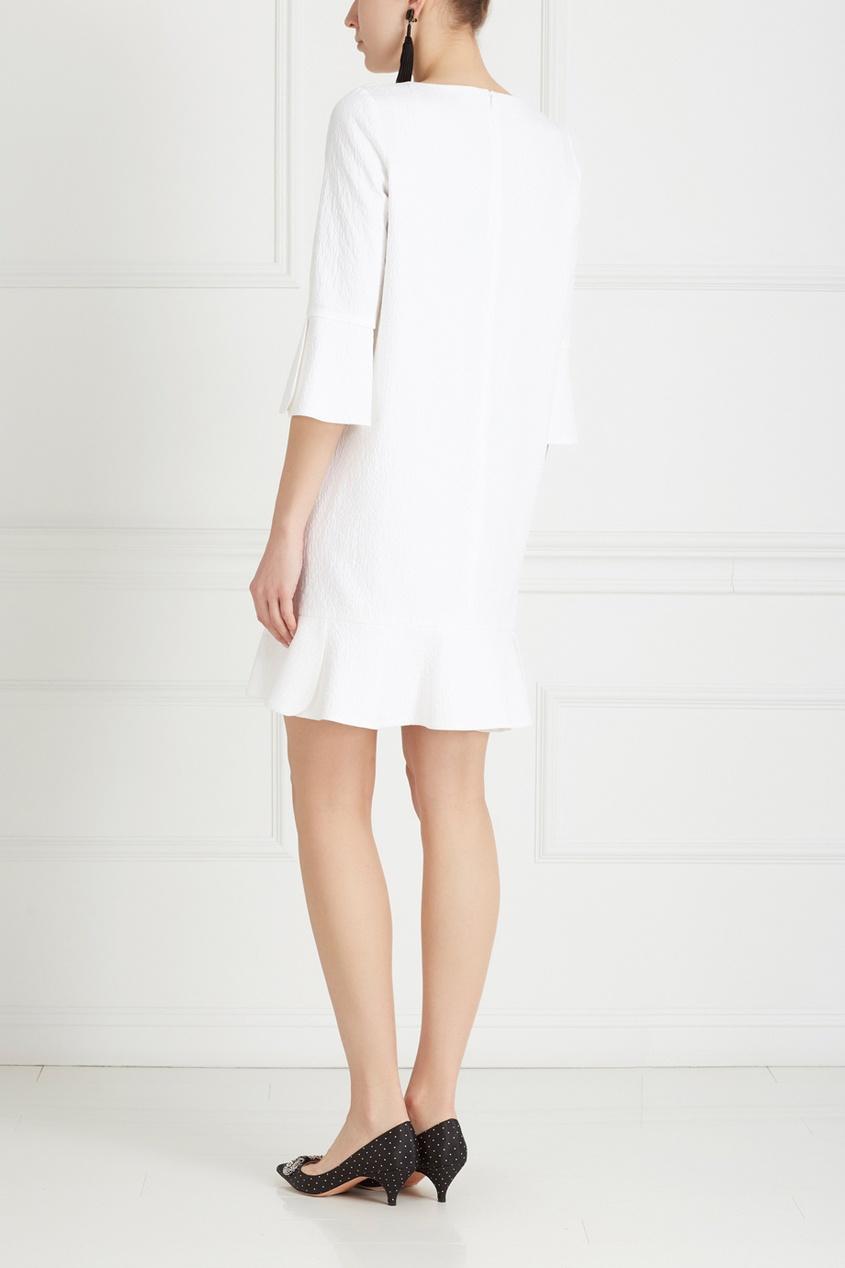 Фото 5 - Хлопковое платье от Chapurin белого цвета