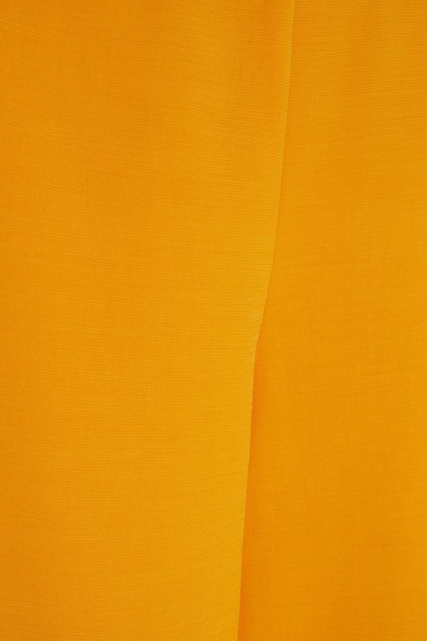 Фото 2 - Однотонные брюки от Chapurin оранжевого цвета