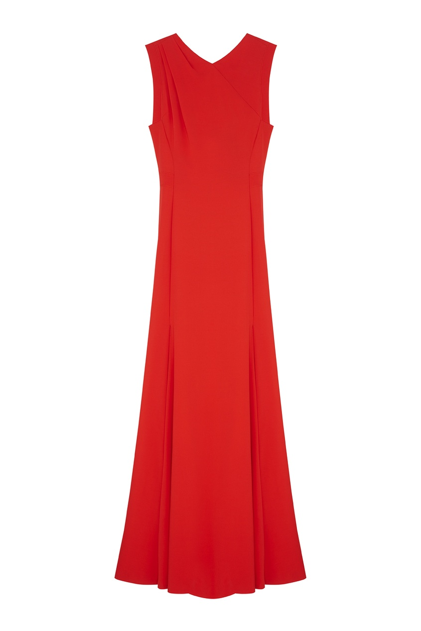 Фото - Платье от Chapurin красного цвета