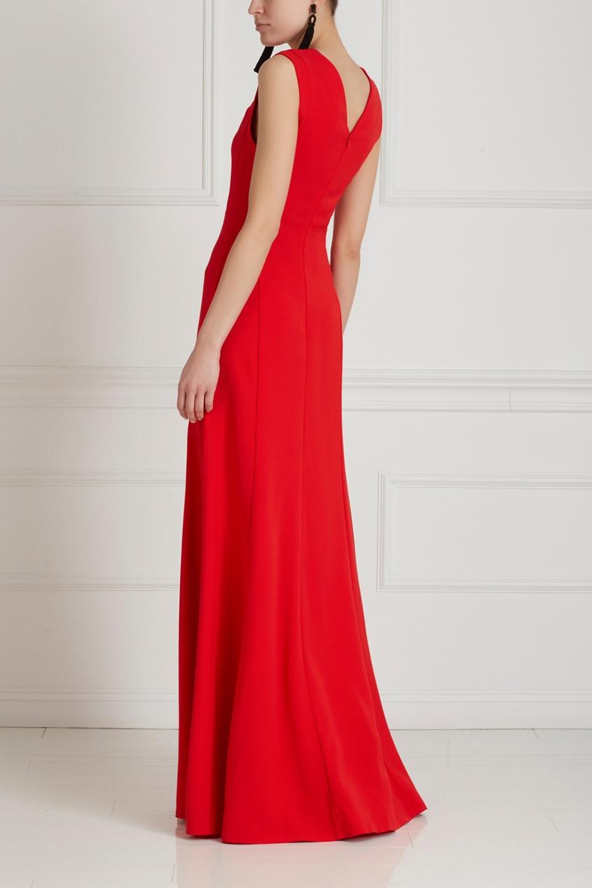 Фото 4 - Платье от Chapurin красного цвета