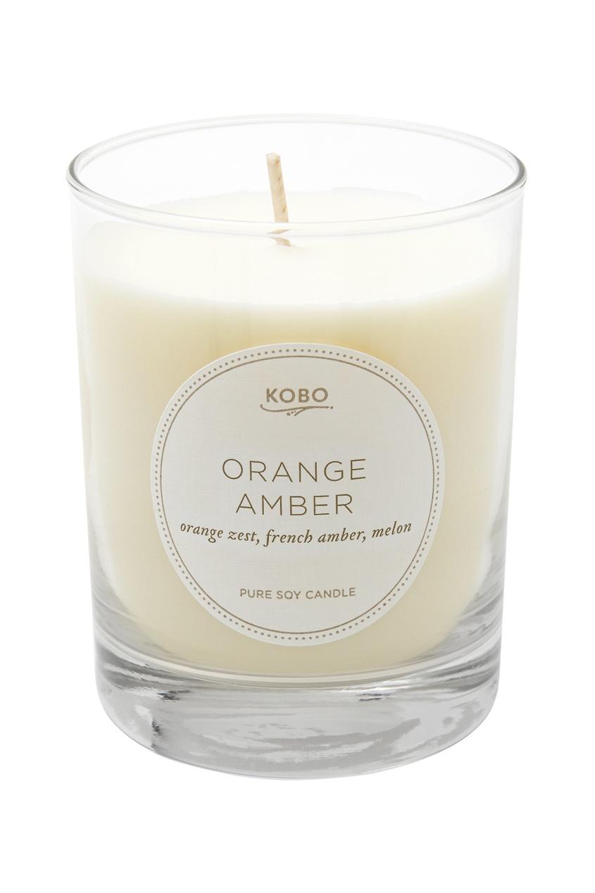 Kobo Candles Ароматическая свеча Orange Amber 312гр.