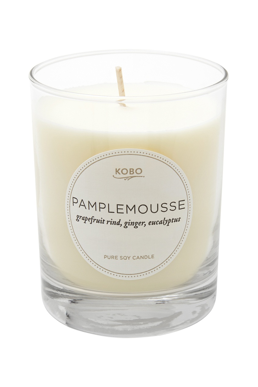 Kobo Candles Ароматическая свеча Pamplemousse 312гр.
