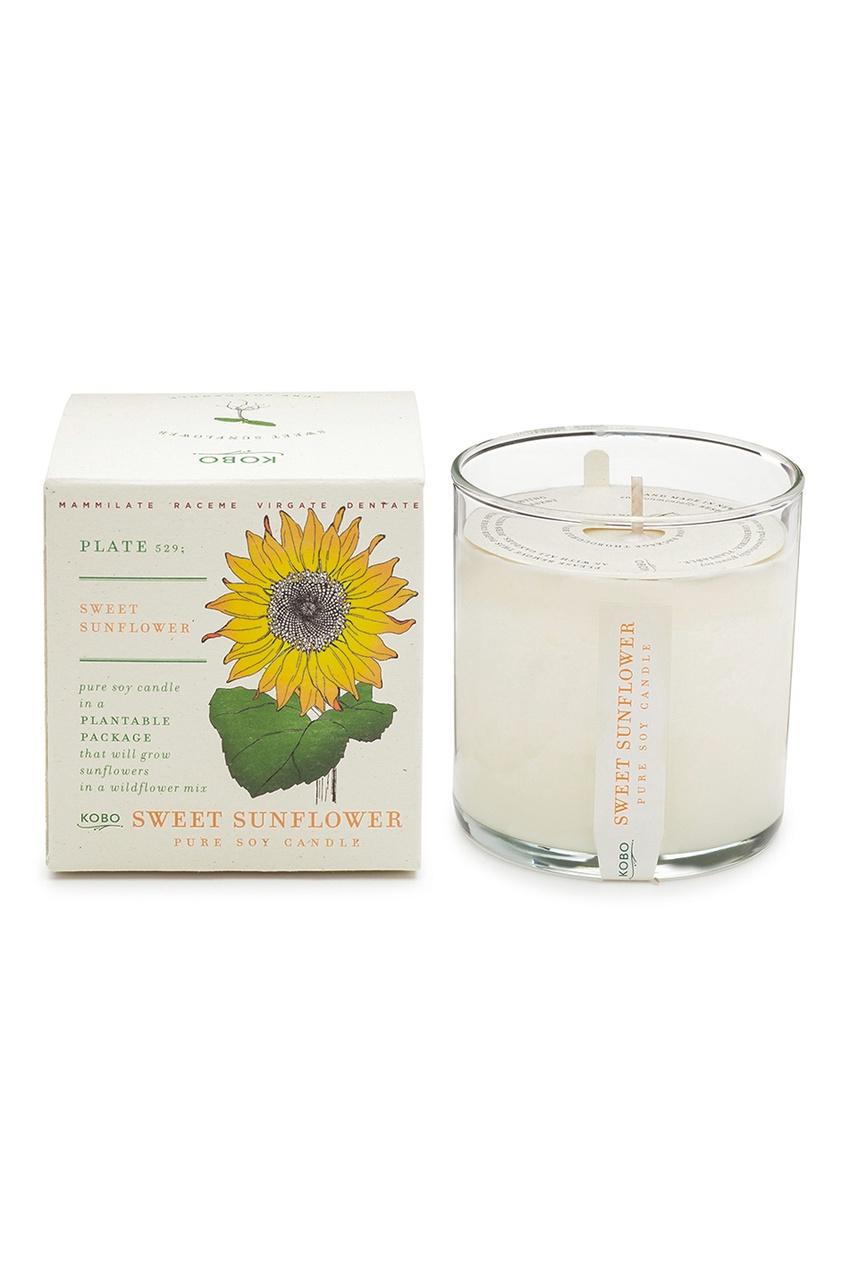Ароматическая свеча Sweet Sunflower 240гр. от AIZEL