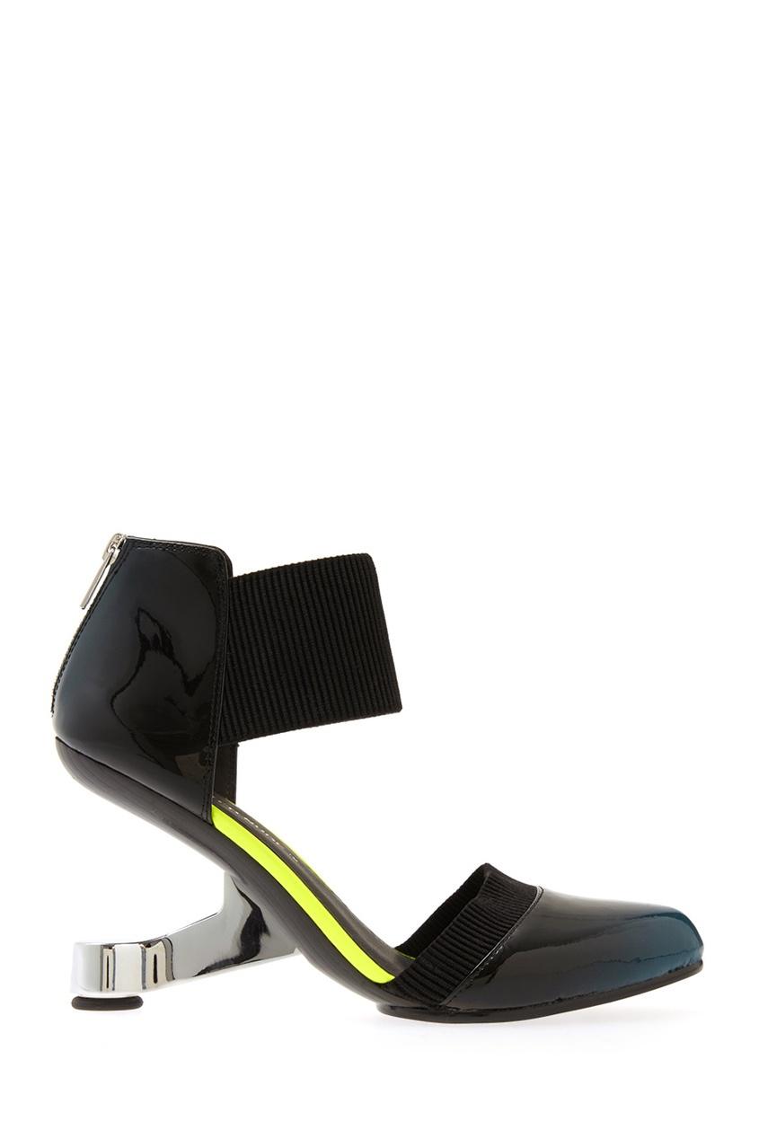 Туфли из лакированной кожи Eamz Lente