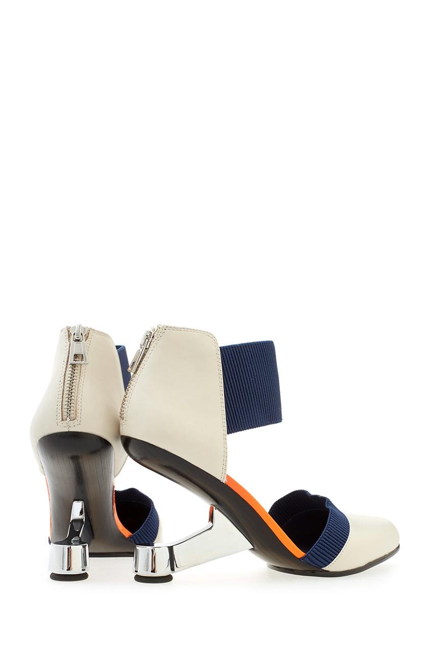 Кожаные туфли Eamz Lente