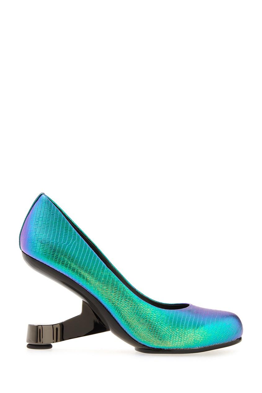Туфли из металлизированной кожи Eamz Pump