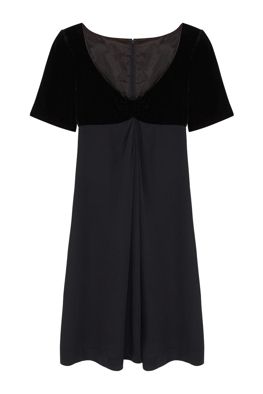 Однотонное платье (90-е)