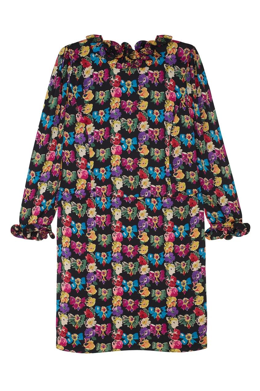 Шелковое платье (80-е) от Louis Feraud Vintage