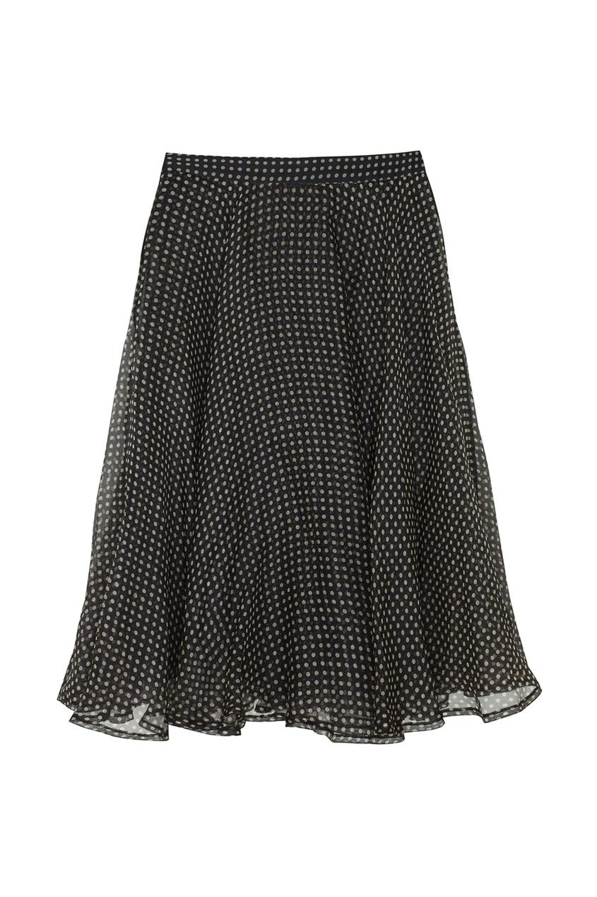 Gianni Versace Vintage Шелковая юбка (90-е) escada vintage кружевная юбка 90 е