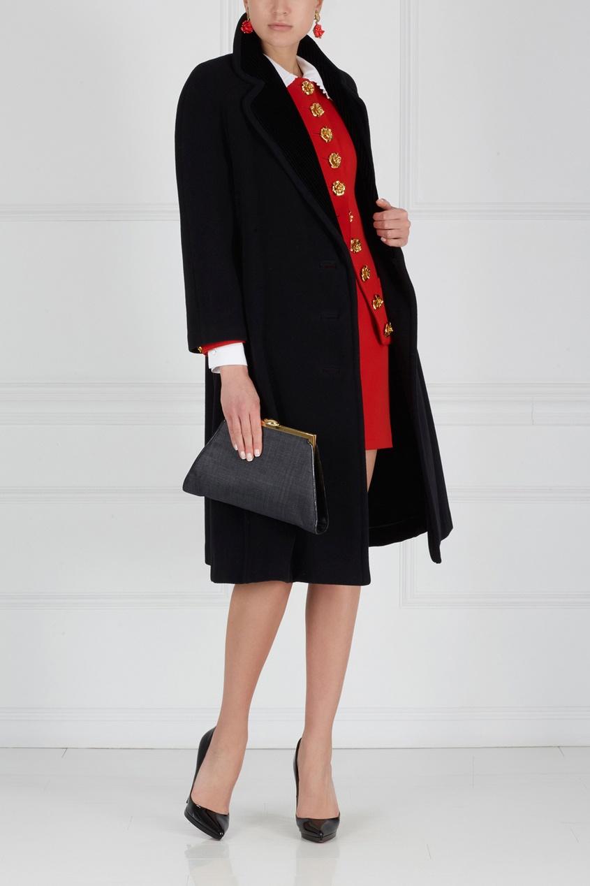 Пальто из кашемира и шерсти (90-е)