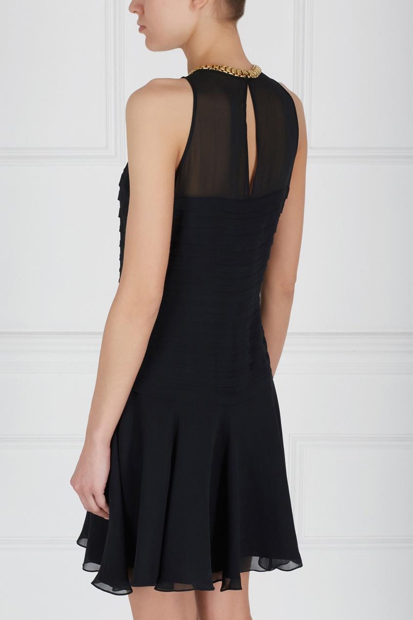 Фото 2 - Однотонное платье от Niteline Vintage черного цвета