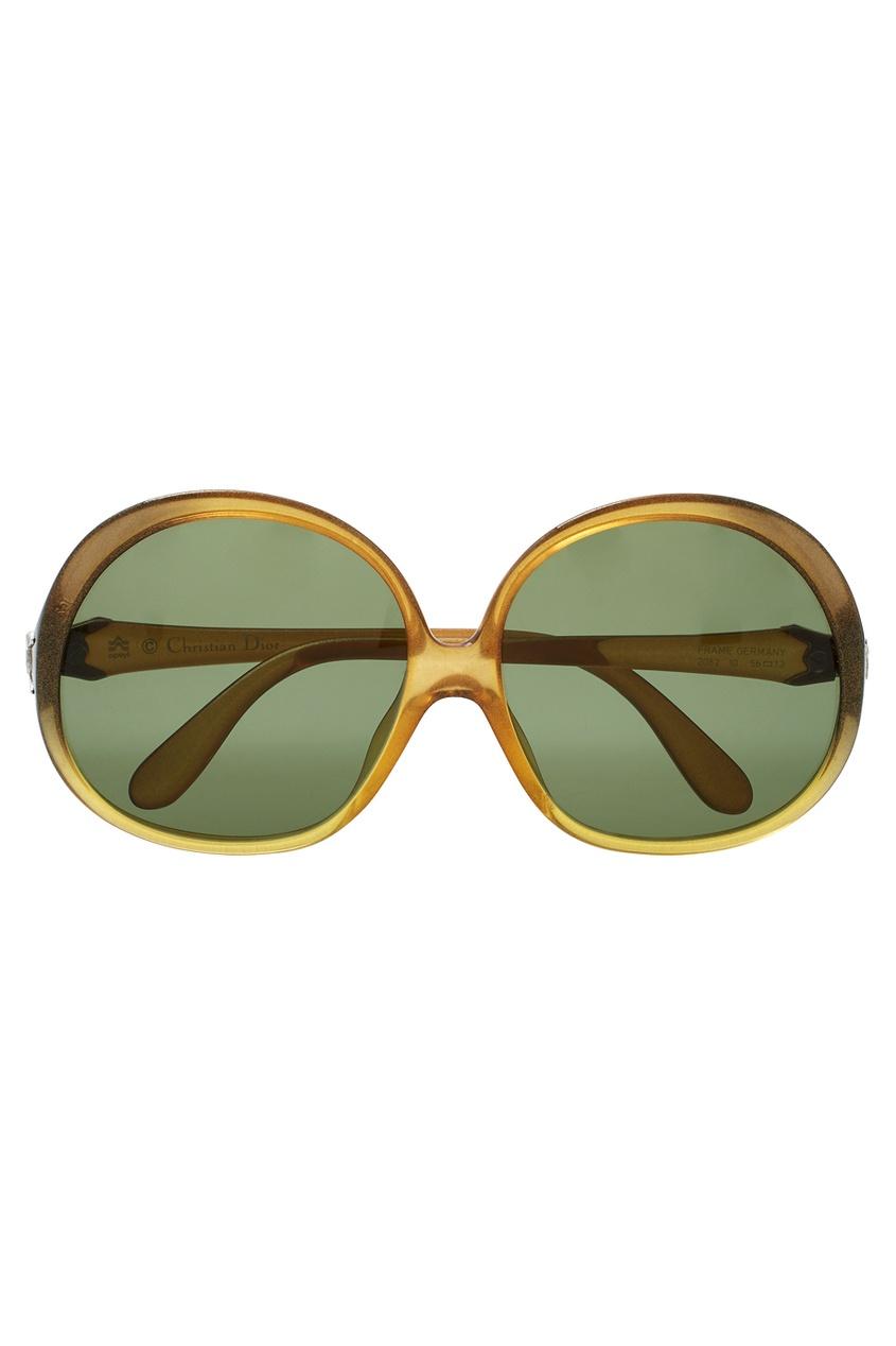 Christian Dior Vintage Солнцезащитные очки (70-е) christian dior vintage винтажная брошь подвеска 80 е