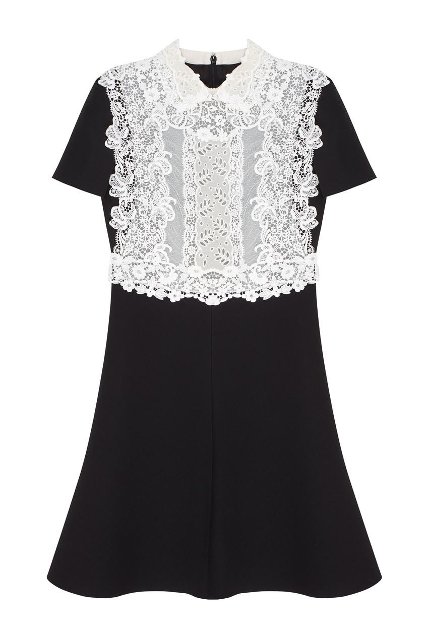 Valentino Платье из шерсти и шелка