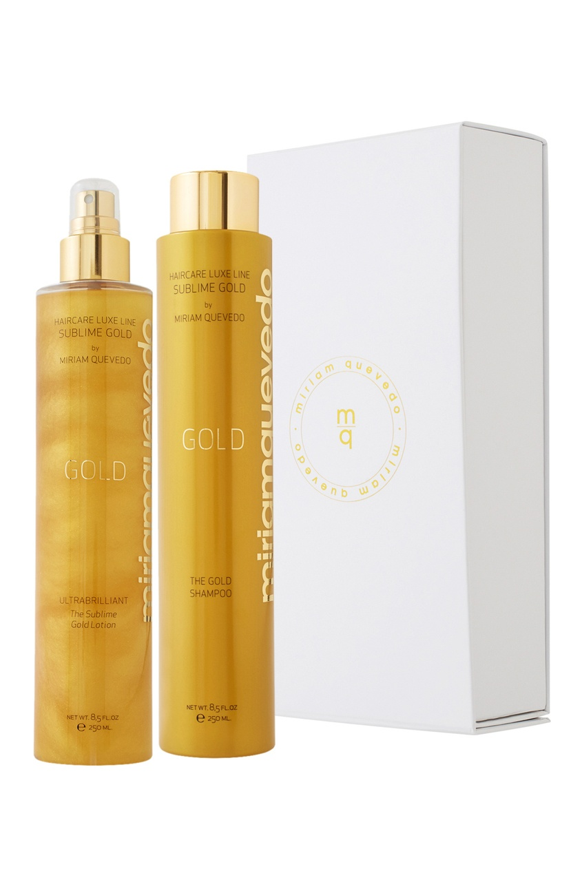 Miriamquevedo Набор для волос The Rejuvenating Sublime Gold Special Duo
