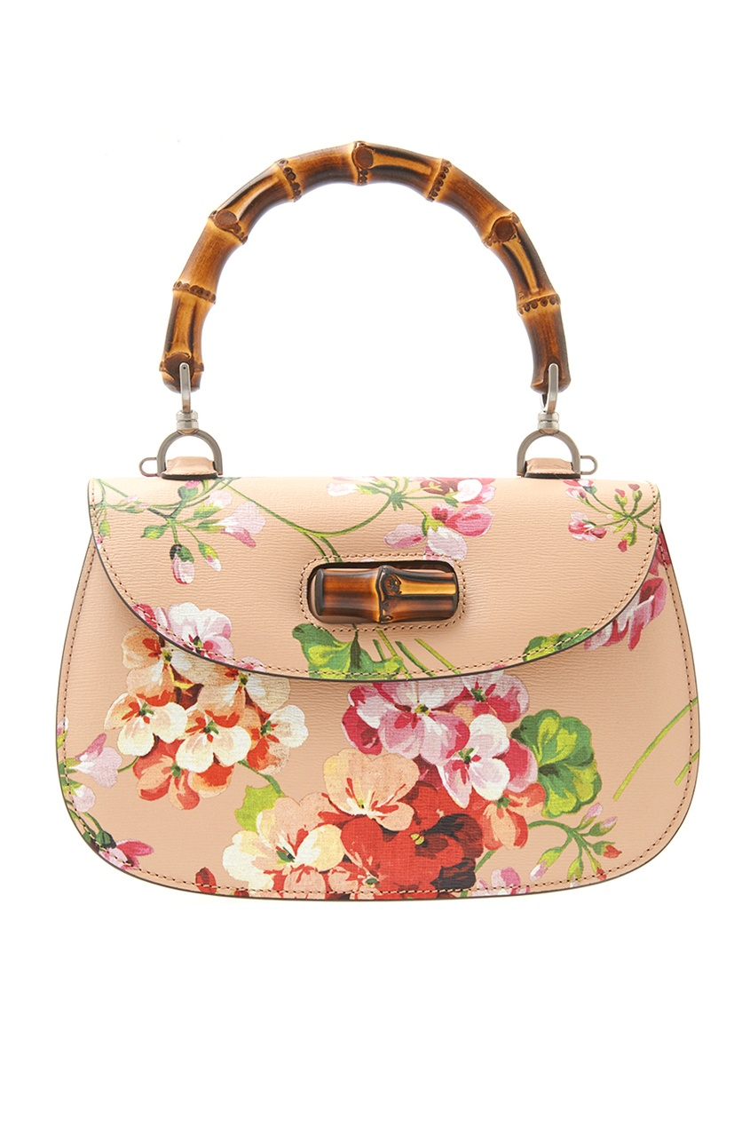 Кожаная сумка Bamboo Classic Blooms