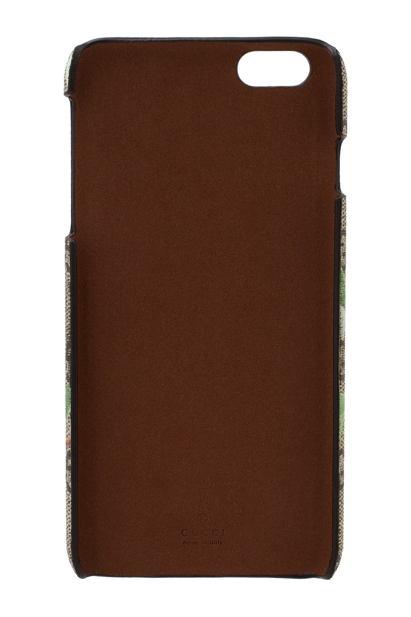 Фото 2 - Чехол для iPhone 6 Plus от Gucci цвет multicolor