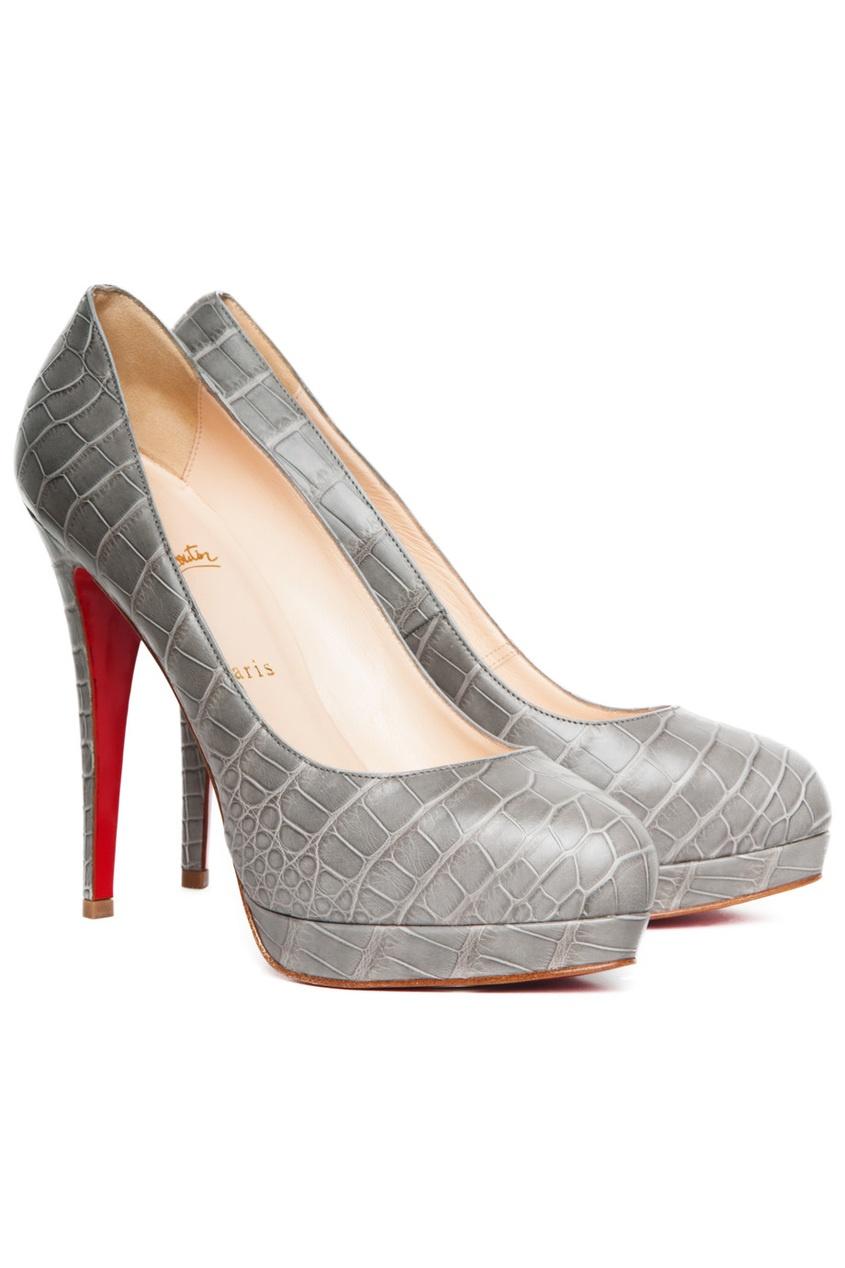 Туфли из крокодила Alti Pump