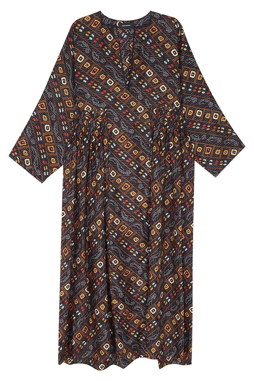 Шелковое платье Tizy