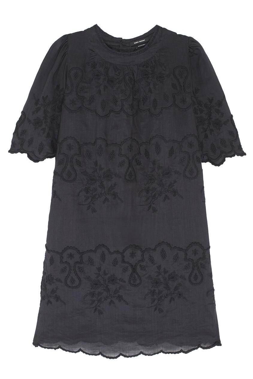 Платье из рами