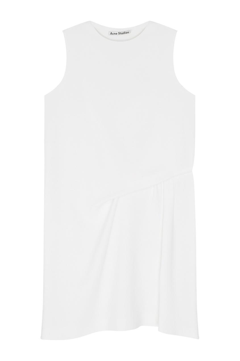 Однотонное платье Caprice