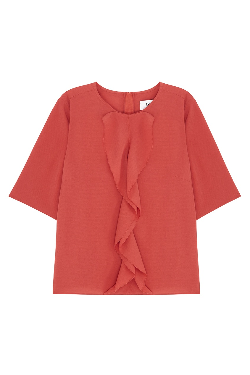 Однотонная блузка Claramilla