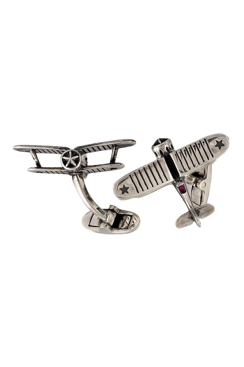 Gourji Серебряные запонки с рубинами «И-53» gourji серебряные запонки с кварцем волосатиком gourji
