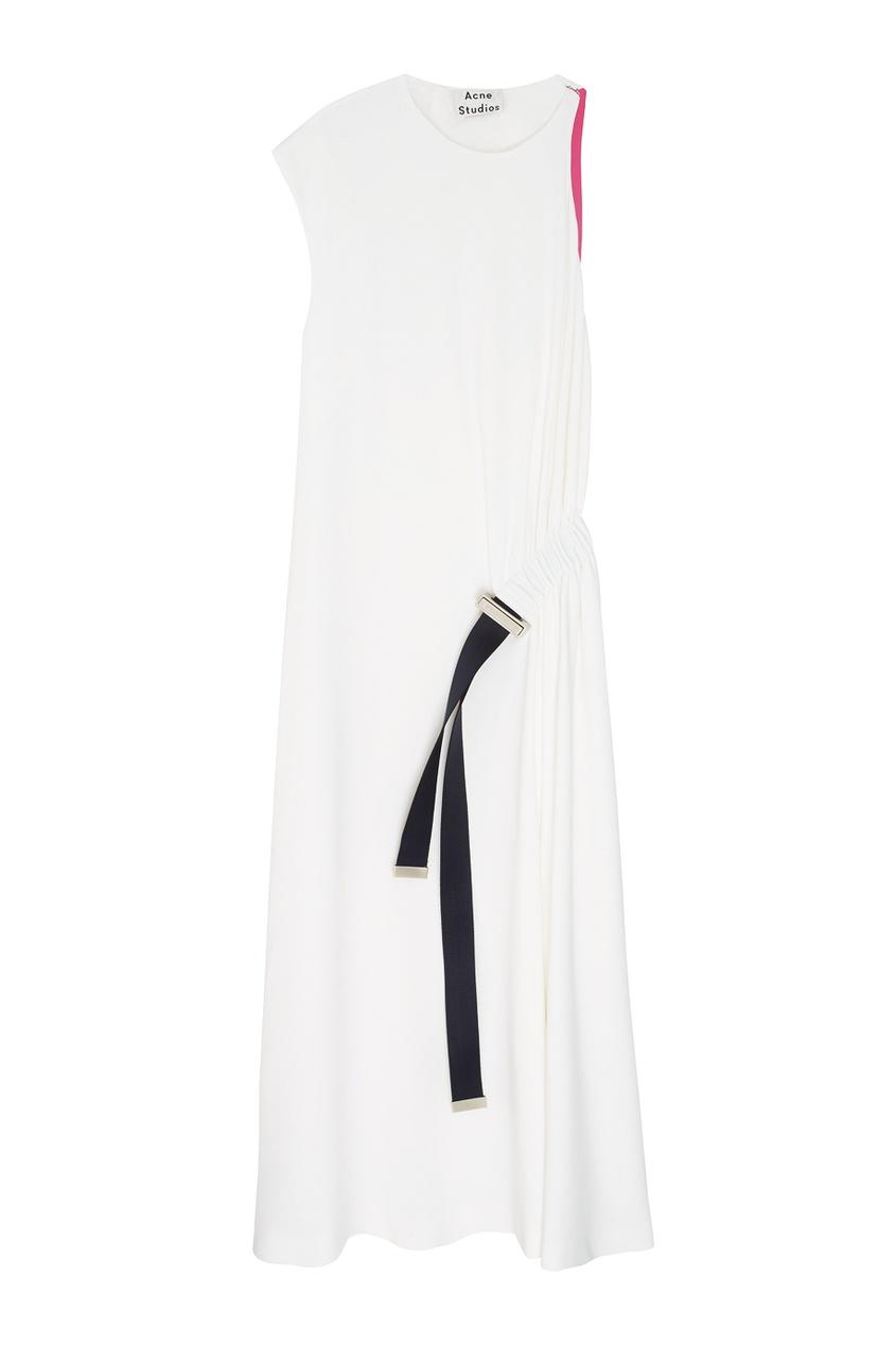 Купить со скидкой Однотонное платье  Cabe