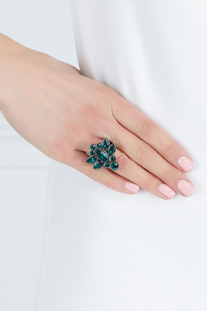Mawi Кольцо Rebel Romance с кристаллами