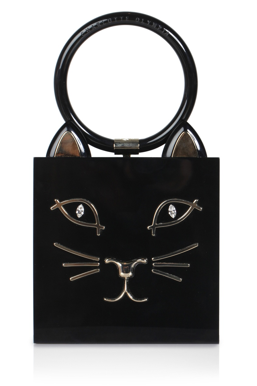 Пластиковая сумка Kitty Clutch