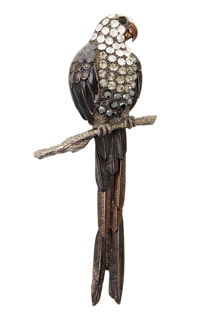 Herald Percy Брошь с кристаллами серьги herald percy асимметричные серьги цветочной формы