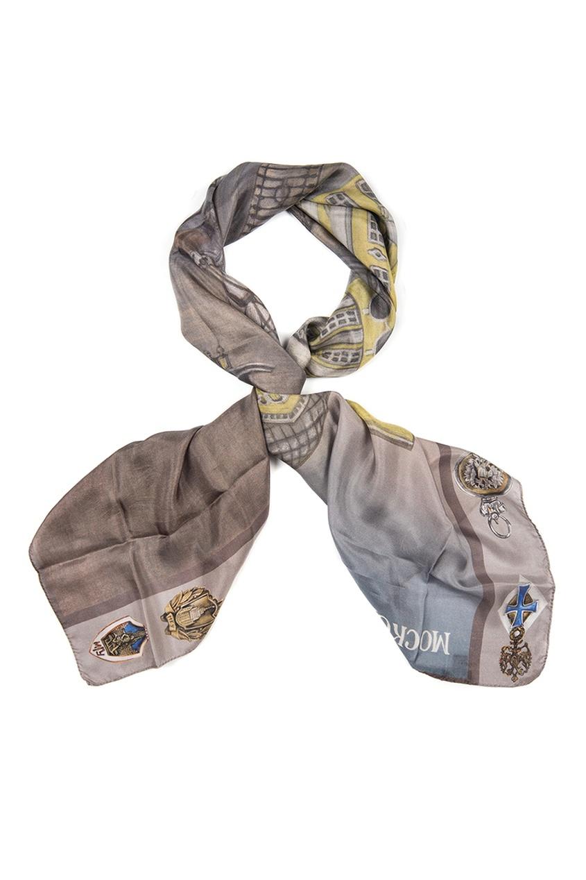Шелковый платок «МГУ»
