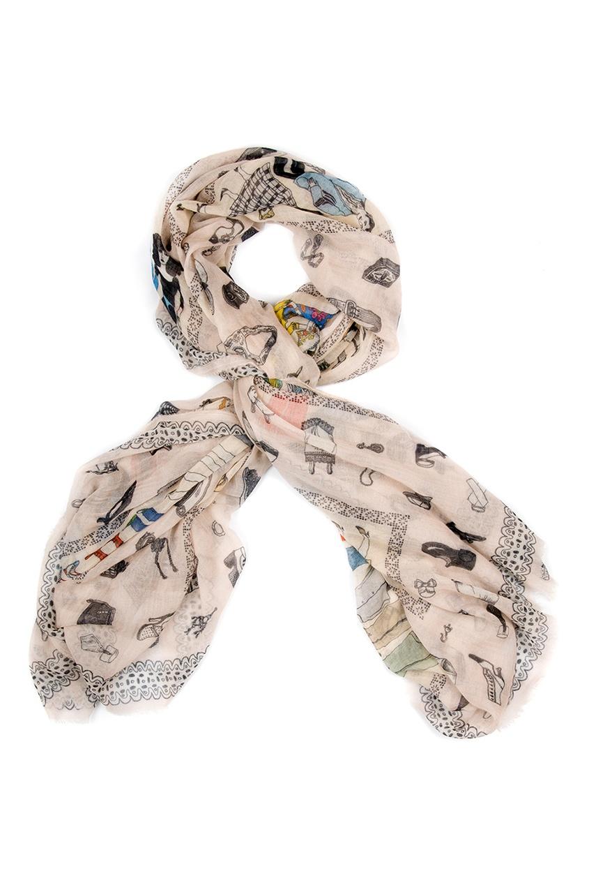 Кашемировая шаль «Мода XX века»