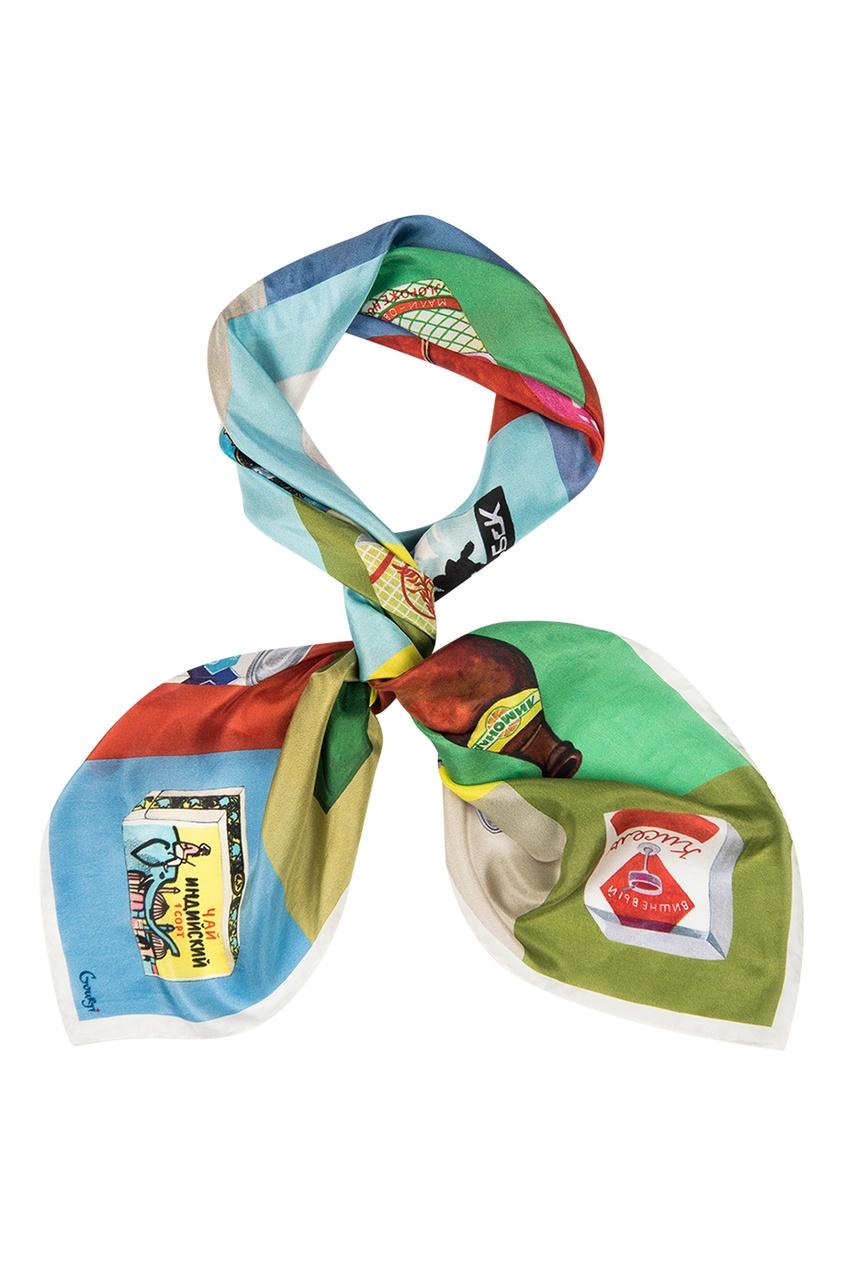 Шелковый платок «Про-питание»