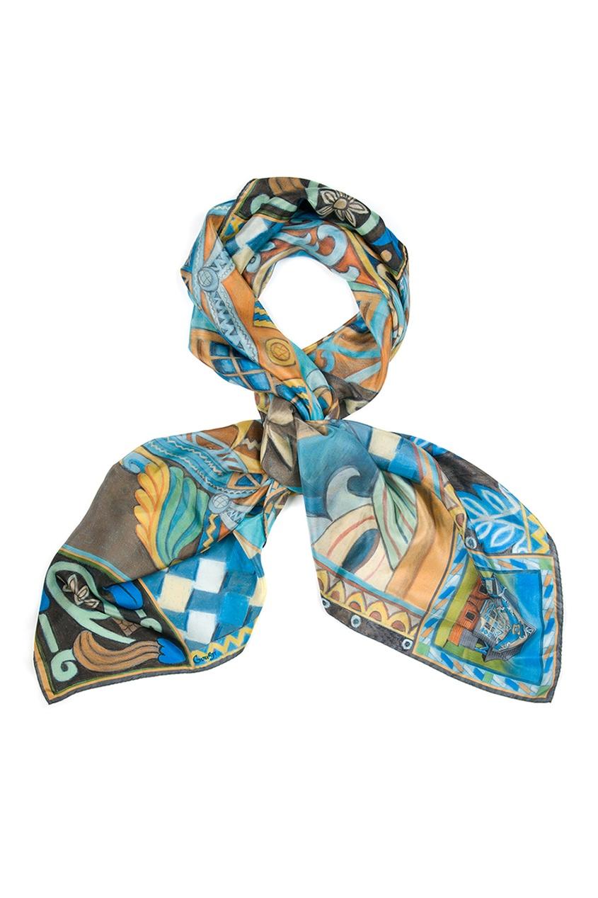 Шелковый платок «Талашкино»