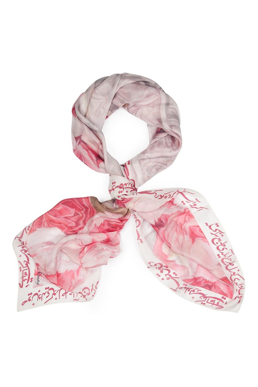 Шелковый платок «Фонтан Сельсебиль»