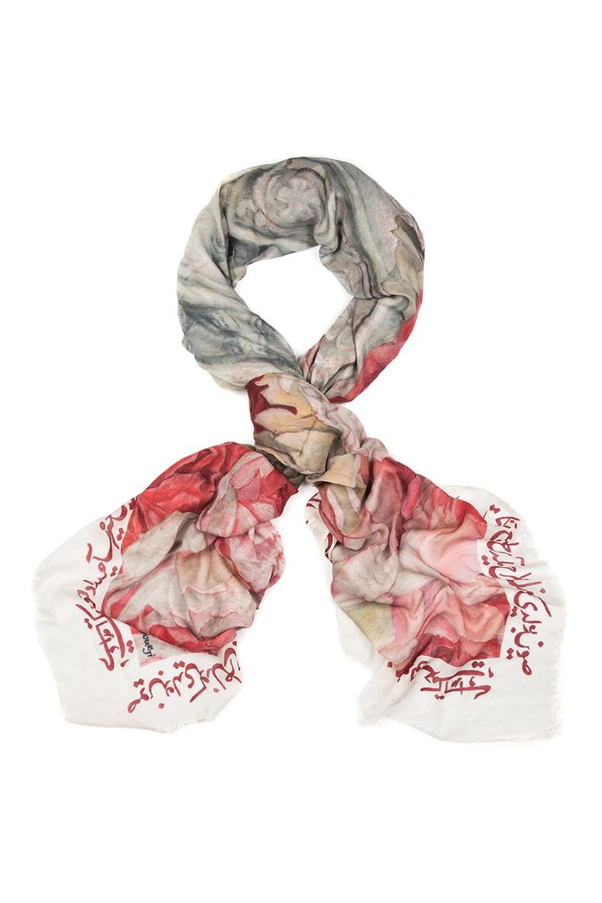 Кашемировый платок «Фонтан Сельсебиль»
