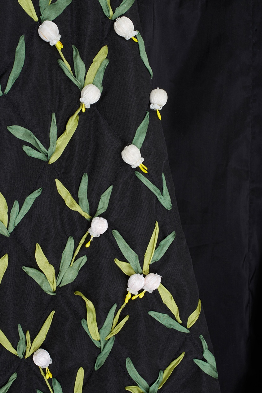 Фото 6 - Жакет с вышивкой от Alexander Arutyunov черного цвета
