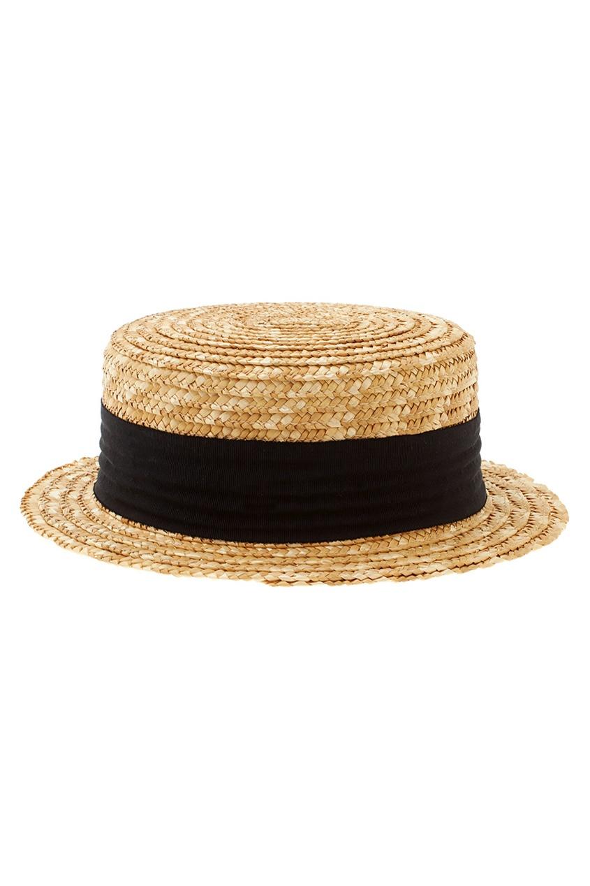 Фото 2 - Соломенная шляпа от Alexander Arutyunov желтого цвета