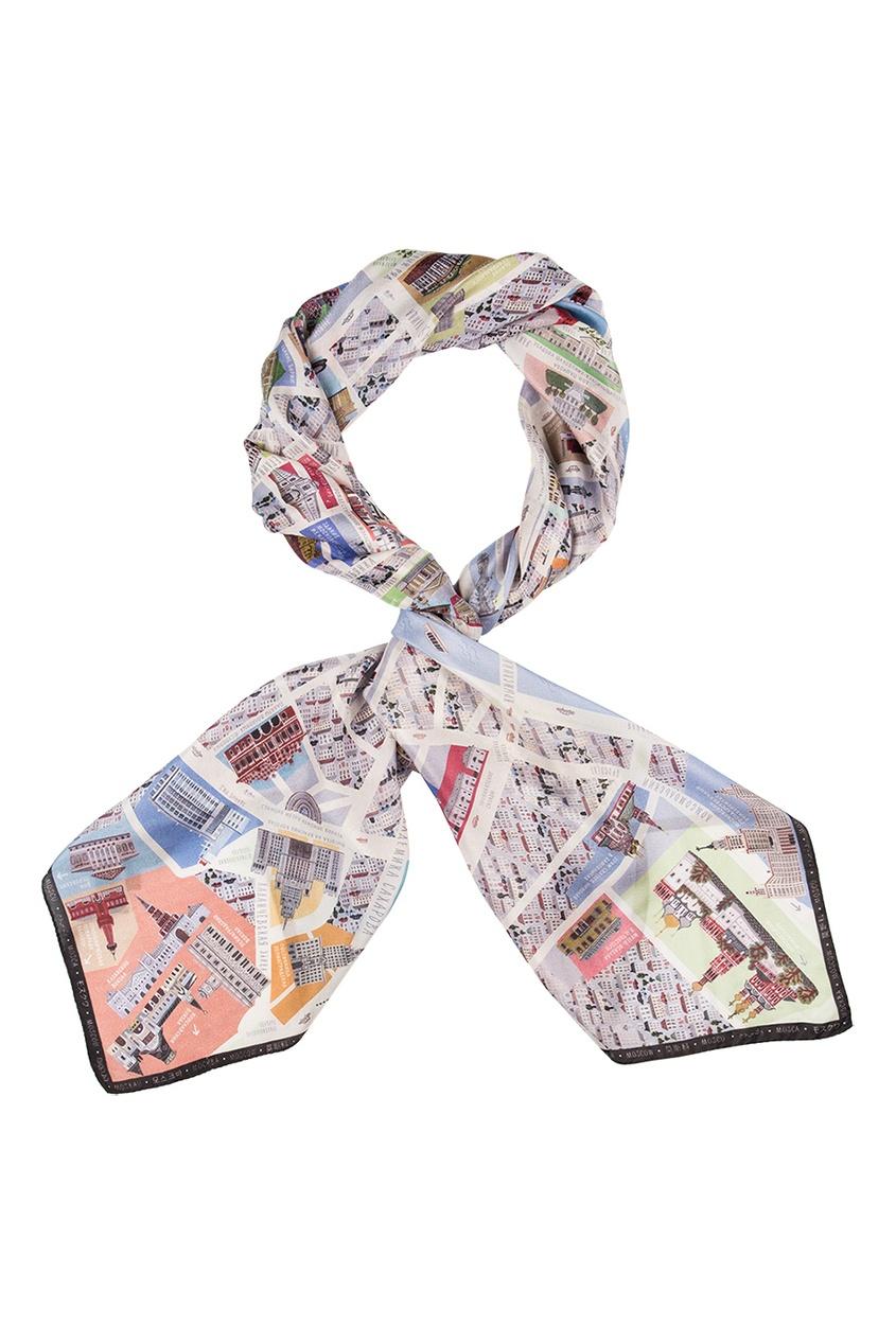 Шелковый платок «Москва»