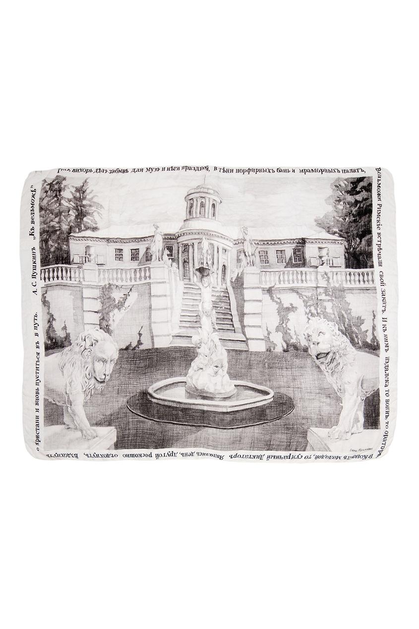 Кашемировая шаль «Архангельское»