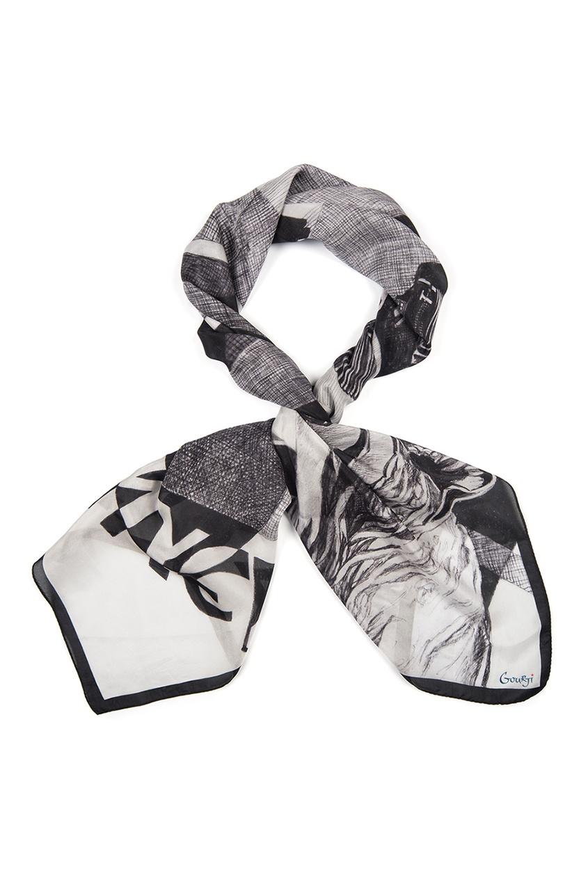 Шелковый платок «Аэлита»