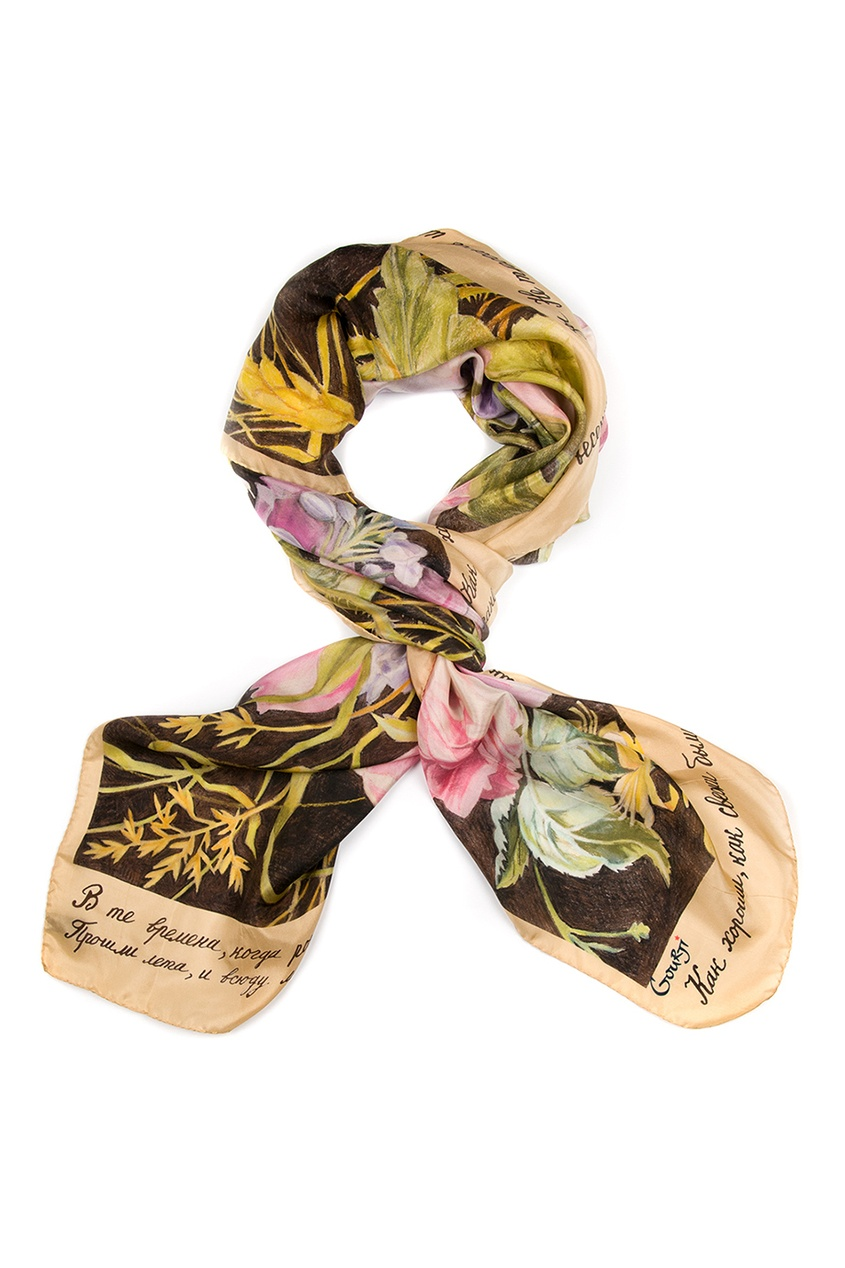 Шелковый платок «Букет»