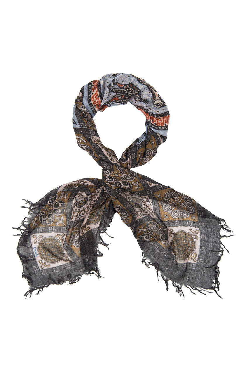 Кашемировый платок «Голуби»