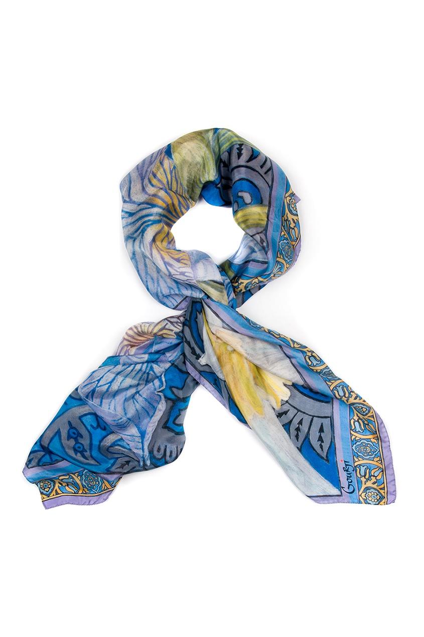 Gourji Шелковый платок «Ирис»